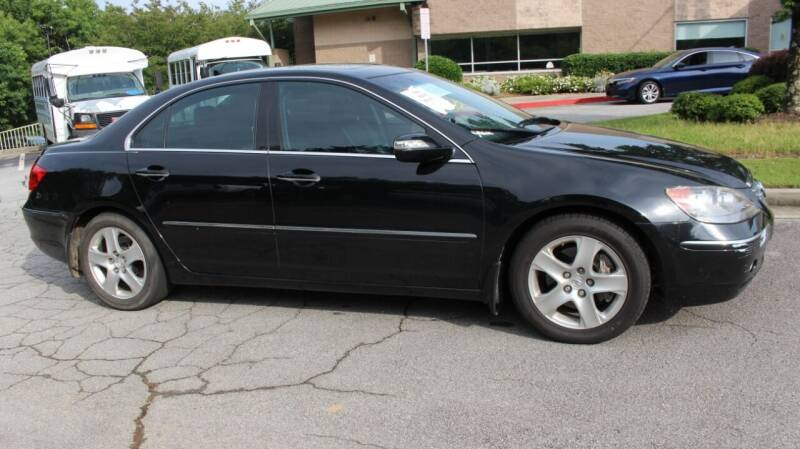 2005 Acura RL for sale at NORCROSS MOTORSPORTS in Norcross GA