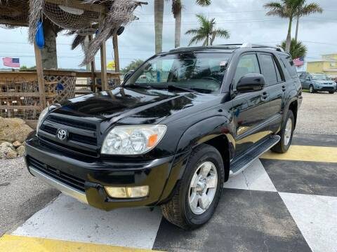 2003 Toyota 4Runner for sale at D&S Auto Sales, Inc in Melbourne FL