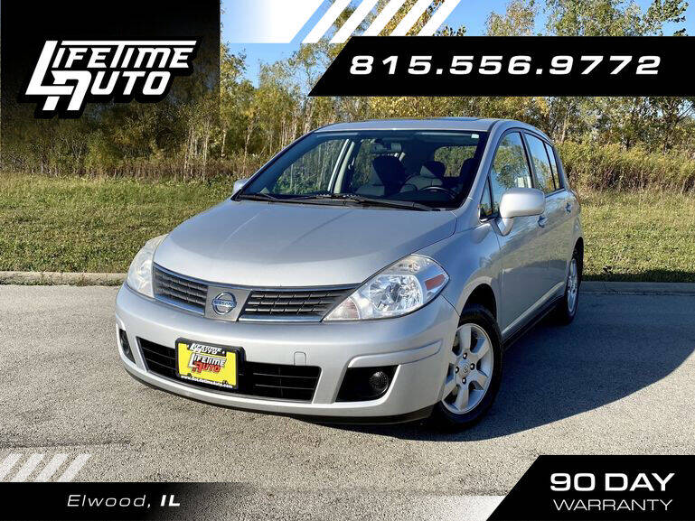 2008 Nissan Versa for sale at Lifetime Auto in Elwood IL