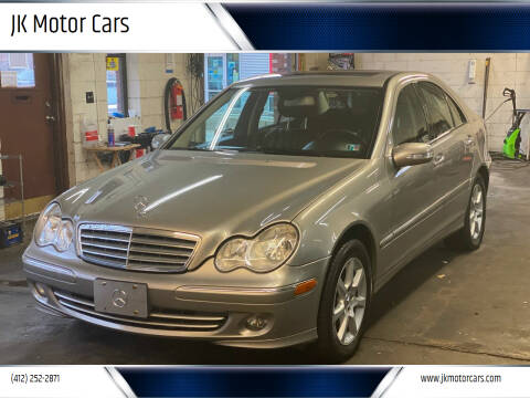 2007 Mercedes-Benz C-Class for sale at JK Motor Cars in Pittsburgh PA