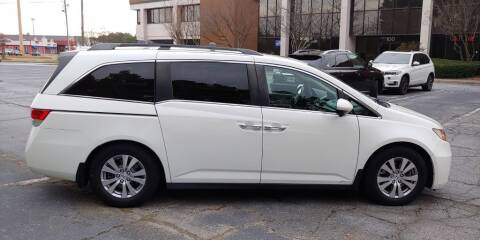 2014 Honda Odyssey for sale at C & J International Motors in Duluth GA