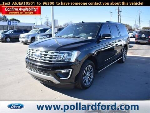 2018 Ford Expedition MAX for sale at South Plains Autoplex by RANDY BUCHANAN in Lubbock TX