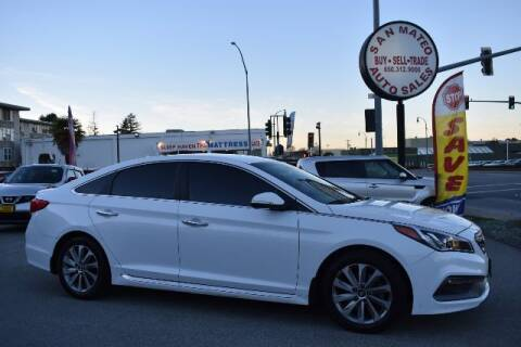 2016 Hyundai Sonata for sale at San Mateo Auto Sales in San Mateo CA