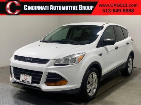 2015 Ford Escape for sale at Cincinnati Automotive Group in Lebanon OH