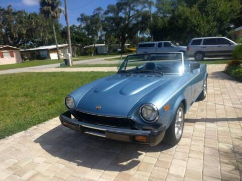 1981 FIAT 124 Spider for sale at Classic Car Deals in Cadillac MI