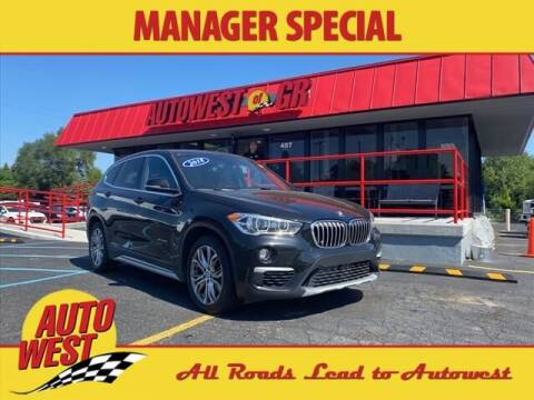 2018 BMW X1 for sale at Autowest of GR in Grand Rapids MI
