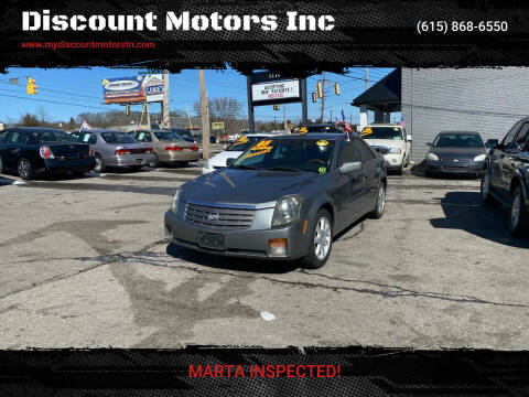 2005 Cadillac CTS for sale at Discount Motors Inc in Madison TN