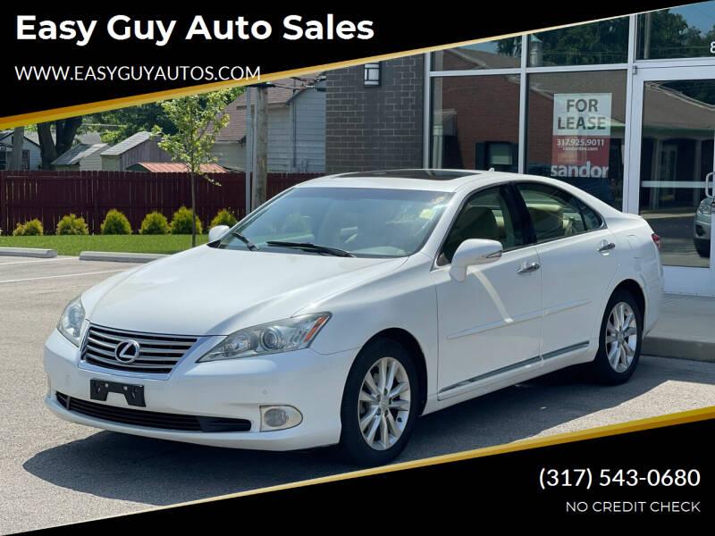 2011 Lexus ES 350 for sale at Easy Guy Auto Sales in Indianapolis IN