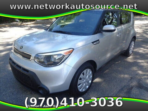 2015 Kia Soul for sale at Network Auto Source in Loveland CO