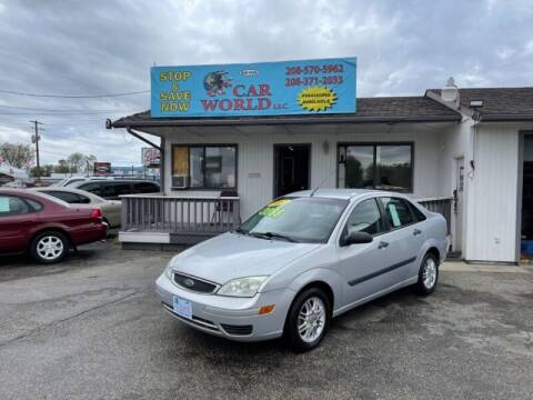 2007 Ford Focus for sale at CAR WORLD in Nampa ID