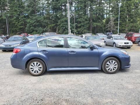 2013 Subaru Legacy for sale at WILSON MOTORS in Spanaway WA