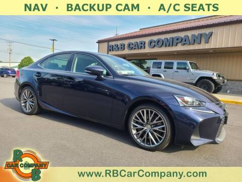 2017 Lexus IS 300 for sale at R & B Car Company in South Bend IN
