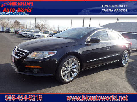 2011 Volkswagen CC for sale at Bruce Kirkham Auto World in Yakima WA