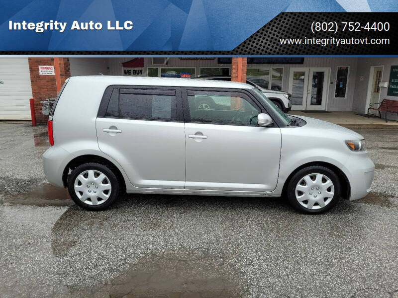 2008 Scion xB for sale at Integrity Auto LLC - Integrity Auto 2.0 in St. Albans VT