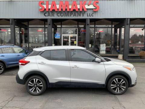 2019 Nissan Kicks for sale at Siamak's Car Company llc in Salem OR
