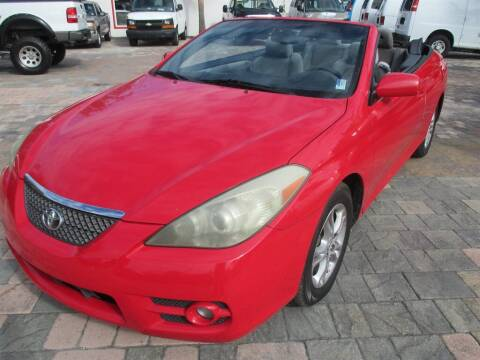 2008 Toyota Camry Solara for sale at Affordable Auto Motors in Jacksonville FL