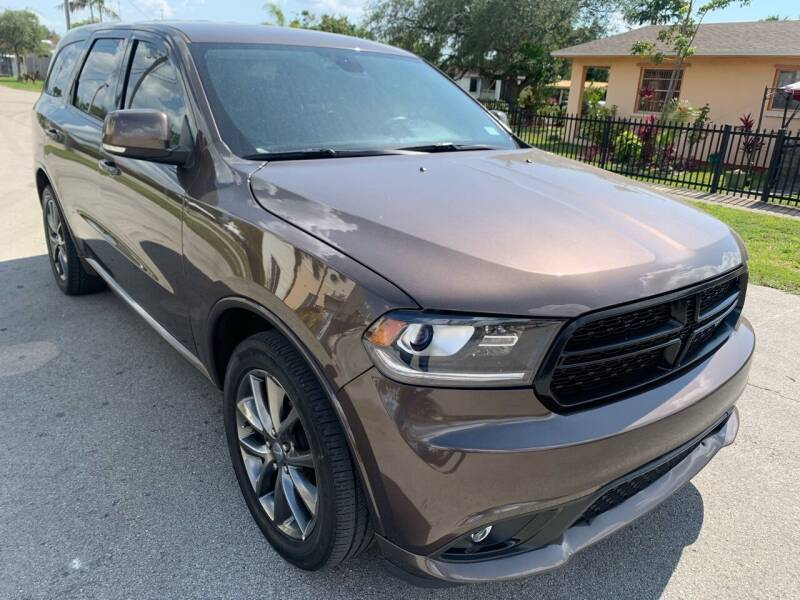 2017 Dodge Durango for sale at Eden Cars Inc in Hollywood FL