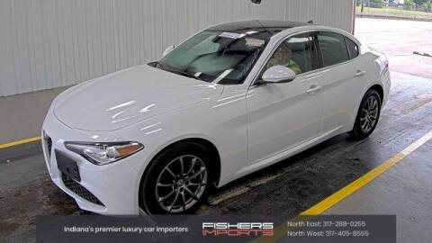 2017 Alfa Romeo Giulia for sale at Fishers Imports in Fishers IN