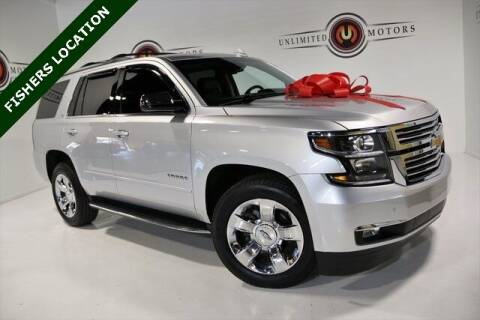 2016 Chevrolet Tahoe for sale at Unlimited Motors in Fishers IN