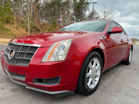 2008 Cadillac CTS for sale at ELAN AUTOMOTIVE GROUP in Buford GA