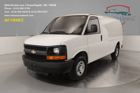 2015 Chevrolet Express Cargo for sale at Elvis Auto Sales LLC in Grand Rapids MI