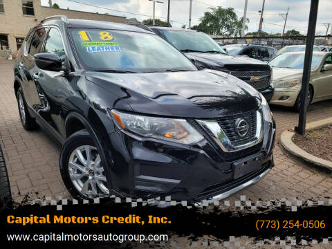 2018 Nissan Rogue for sale at Capital Motors Credit, Inc. in Chicago IL