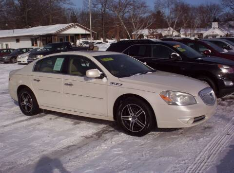 2010 Buick Lucerne for sale at LAKESIDE MOTORS LLC in Houghton Lake MI