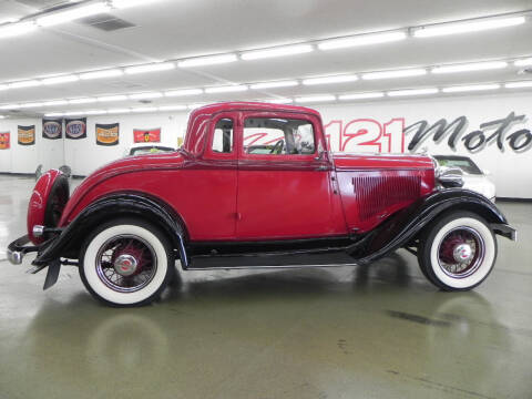 1933 Plymouth PD Business Coupe for sale at 121 Motorsports in Mt. Zion IL