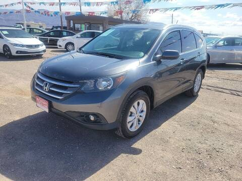 2014 Honda CR-V for sale at Bickham Used Cars in Alamogordo NM