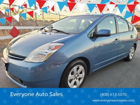 2005 Toyota Prius for sale at Everyone Auto Sales in Santa Clara CA
