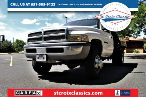 2001 Dodge Ram Chassis 3500 for sale at St. Croix Classics in Lakeland MN