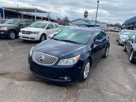 2011 Buick LaCrosse for sale at Memphis Auto Sales in Memphis TN