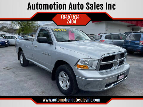 2011 RAM Ram Pickup 1500 for sale at Automotion Auto Sales Inc in Kingston NY