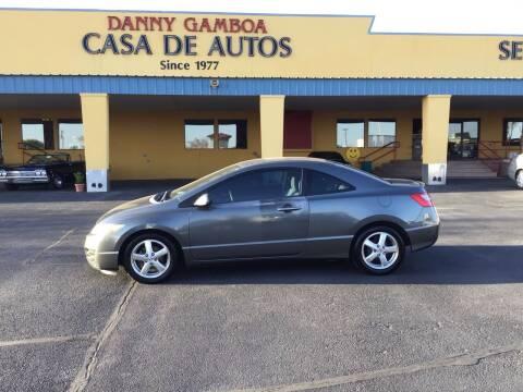 2009 Honda Civic for sale at CASA DE AUTOS, INC in Las Cruces NM