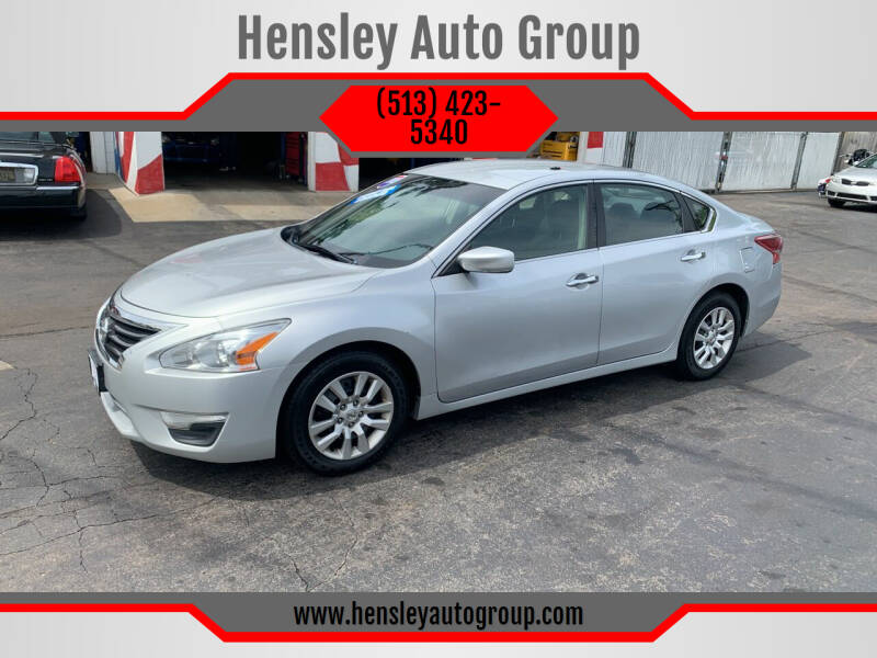 2013 Nissan Altima for sale at Hensley Auto Group in Middletown OH