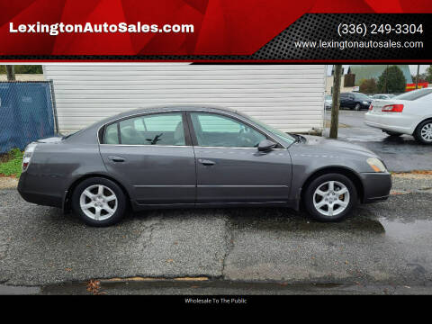 2005 Nissan Altima for sale at LexingtonAutoSales.com in Lexington NC