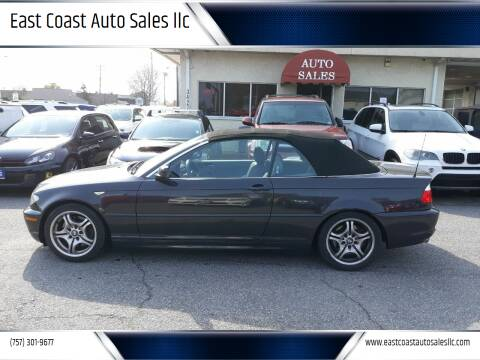 2005 BMW 3 Series for sale at East Coast Auto Sales llc in Virginia Beach VA