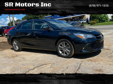 2016 Toyota Camry for sale at SR Motors Inc in Gainesville GA