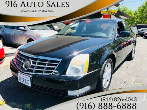 2006 Cadillac DTS for sale at 916 Auto Sales in Sacramento CA