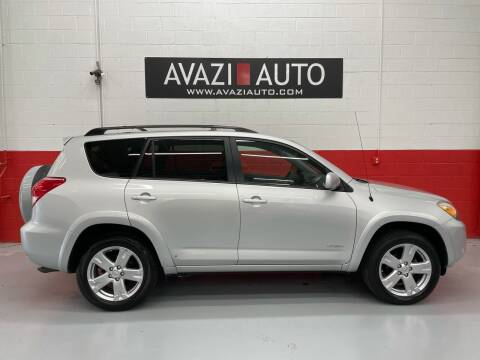 2007 Toyota RAV4 for sale at AVAZI AUTO GROUP LLC in Gaithersburg MD