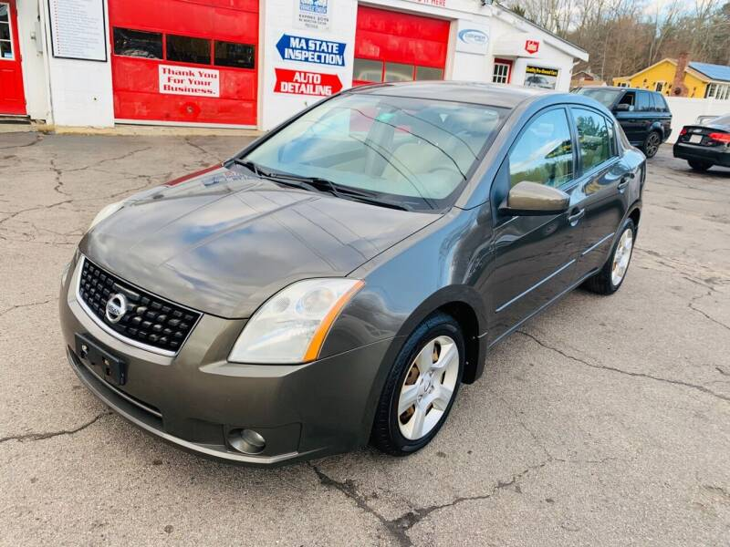 2009 Nissan Sentra for sale at Milford Automall Sales and Service in Bellingham MA