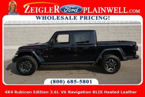 2020 Jeep Gladiator for sale at Zeigler Ford of Plainwell- Jeff Bishop in Plainwell MI