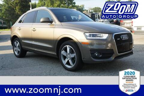 2015 Audi Q3 for sale at Zoom Auto Group in Parsippany NJ