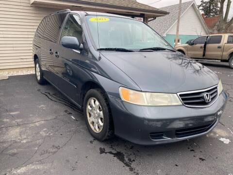 2003 Honda Odyssey for sale at MARK CRIST MOTORSPORTS in Angola IN