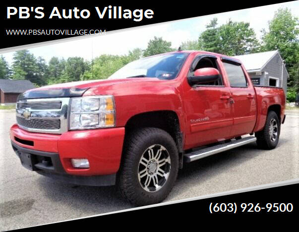 2010 Chevrolet Silverado 1500 for sale at PB'S Auto Village in Hampton Falls NH