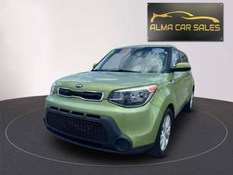 2015 Kia Soul for sale at Alma Car Sales in Miami FL