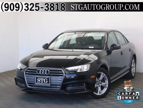 2018 Audi A4 for sale at STG Auto Group in Montclair CA
