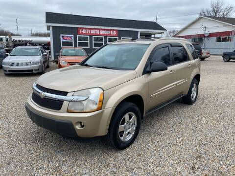 2005 Chevrolet Equinox for sale at Y City Auto Group in Zanesville OH
