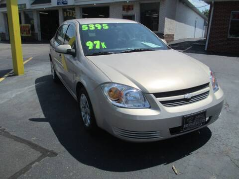 2009 Chevrolet Cobalt for sale at GREG'S EAGLE AUTO SALES in Massillon OH