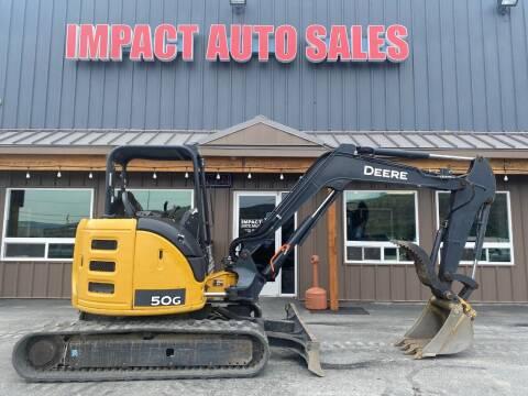 2015 John Deere excavator for sale at Impact Auto Sales in Wenatchee WA